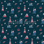 Ship Ahoy Pattern Design