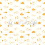 Cartoon Fische Vektor Muster