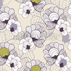 Magic Flower Forest Repeat Pattern
