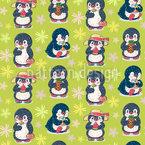 Pinguin-Sommer Musterdesign