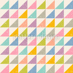 Abstract Triangles Seamless Vector Pattern
