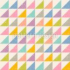 Abstrakte Dreiecke Nahtloses Vektor Muster