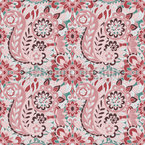 Mehrfarbiger Paisley-Druck Vektor Design