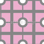 Abstract Tile Vector Ornament