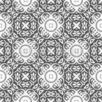 Florale Knöpfe Vektor Muster