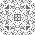 Sag Es Mit Linien Muster Design