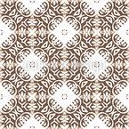 Stilisierte Kachel Muster Design