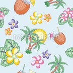 Hawaii-Sommer Musterdesign