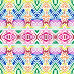 Kaleidoscopic Inspiration Seamless Vector Pattern Design