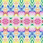 Kaleidoskopische Inspiration Nahtloses Vektormuster