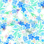 Flower Chaos Vector Pattern