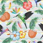 Kolibri-Tanz Rapportiertes Design