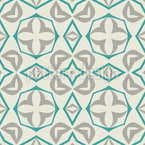 Geometric Victory Seamless Pattern