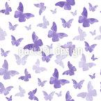 Schmetterlingsharmonie Nahtloses Vektormuster
