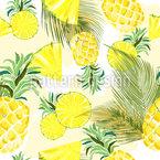 Ananas-Variation Nahtloses Muster