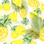 Pineapple Variation Seamless Vector Pattern Design