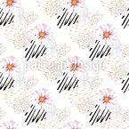 Wildflowers-Animal-Print Pattern Design