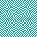 In The Center Mint Seamless Vector Pattern Design