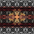 Ethnic Rhythm Repeating Pattern