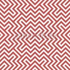 In The Center Red Vector Pattern