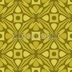 60er Formen Vektor Muster
