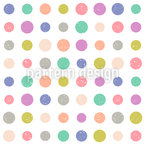 Grunge Dots Seamless Vector Pattern Design
