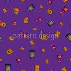 Backpack Seamless Vector Pattern Design