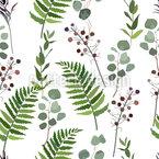 熱帯性自然 シームレスなベクトルパターン設計