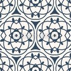 Arabeske Linien Nahtloses Vektormuster