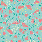 Flamingo Celebration Pattern Design