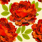 Rosy Paradise Seamless Vector Pattern Design