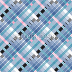 Weaving Lines Seamless Pattern