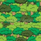 Forest Tale Seamless Vector Pattern Design