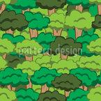 Wald Fabel Vektor Muster