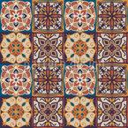 Fliese des Orients Muster Design