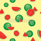 Frische Wassermelone Rapportmuster