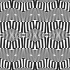 Trippy Zigzag Seamless Vector Pattern Design