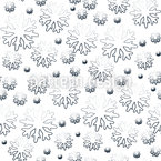 Schneeflocke Nahtloses Vektormuster