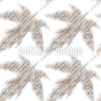 Rasterized Leaves Seamless Vector Pattern