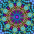 Kreis Mandala Musterdesign