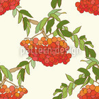 Rowan White Pattern Design