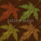Autumnal Order Vector Pattern