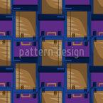 Basic Backpack Seamless Vector Pattern Design