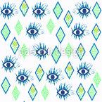ミスティック・アイズ シームレスなベクトルパターン設計
