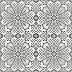Fächerblume Muster Design