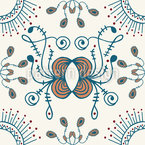 Curved Line Repeat Pattern