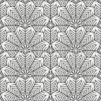 Overlapping Fans Seamless Vector Pattern Design