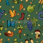 Herbst Vektor Muster