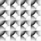 Gradient Ball Grid Repeating Pattern