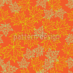 Autum Leaves On The Ground Pattern Design